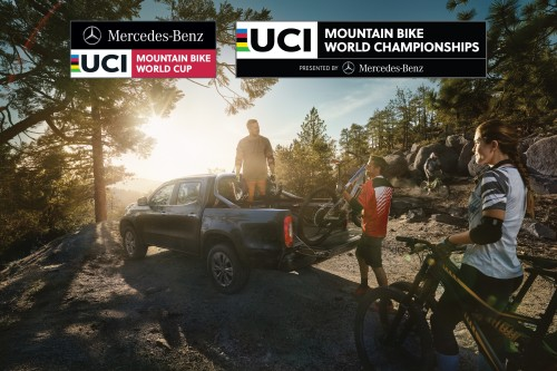 X-Klasse trifft Mountainbiking: Mercedes-Benz Vans wird Hauptpartner des UCI Mountain Bike World Cup und World Championships